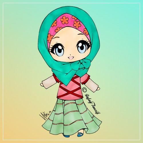 75 Gambar Kartun Muslimah Cantik Dan Imut Bercadar Sholehah Lucu Gambar Kartun Gambar Kartun Gambar Karakter
