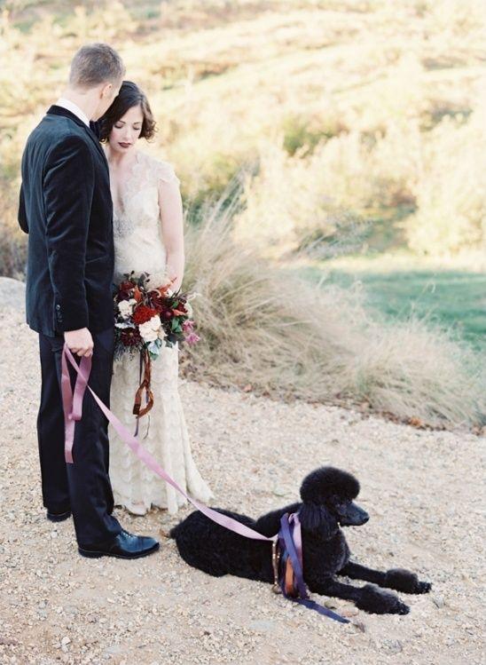 Bold Meets Soft Fall Wedding Inspiration