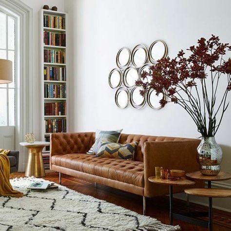 Chọn mua sofa da tphcm chất lượng cho phòng khách rộng