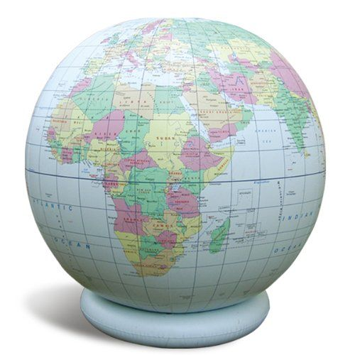 Jet Creations 36″ Inflatable Globe -…