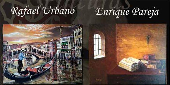 EXPOSICIÓN: Rafael Urbano - Enrique Pareja. Hasta el 2 Mar. 2018