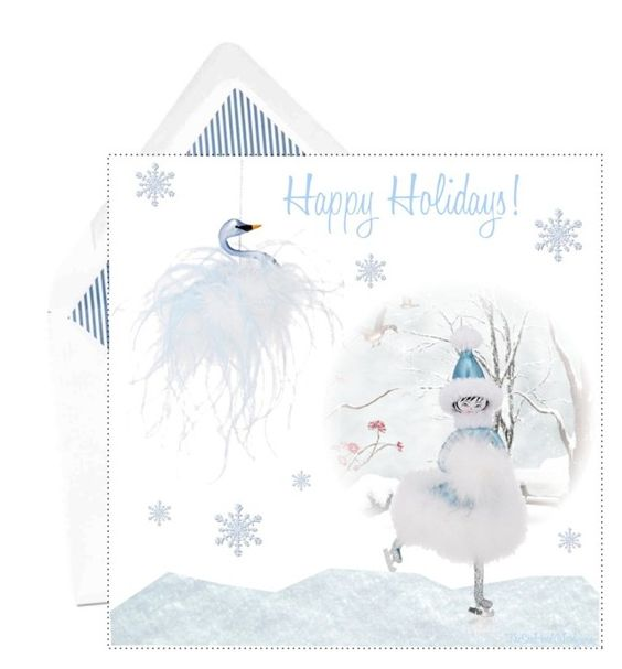"""Happy Holidays!"" by theseapearl ❤ liked on Polyvore featuring art, holidaygreetingcard and PVStyleInsiders"