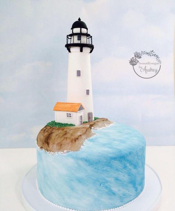 Lighthouse <3  - Cake by BeautifySugar