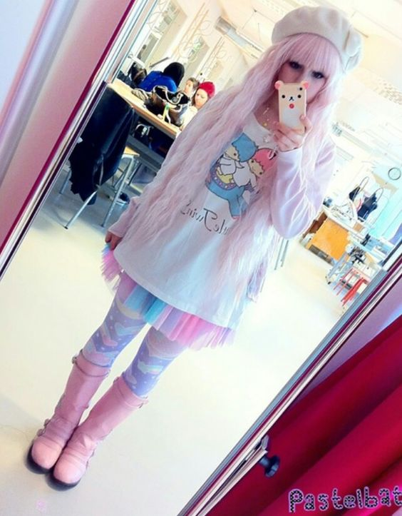 Japanese fashion- little twin stars are my fave!!!
