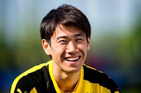 笑顔香川真司さん