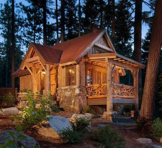 Swell This Gorgeous Cabin Is From Tiny House Design Fb Page I Love The Largest Home Design Picture Inspirations Pitcheantrous