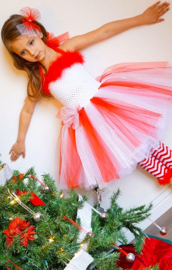 Peppermint princess candy cane ballerina tutu dress for Princess cane