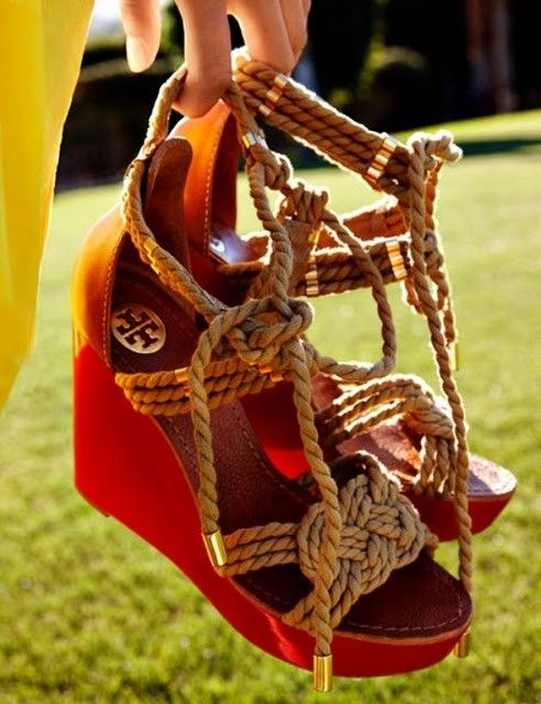 tory burch rope wedges