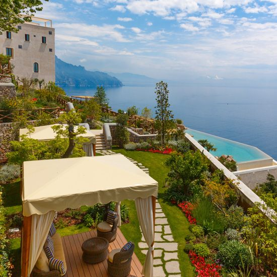 From the best Amalfi Coast hotels to historic villas in Piedmont, here are some of the most beautiful places to stay in Italy.