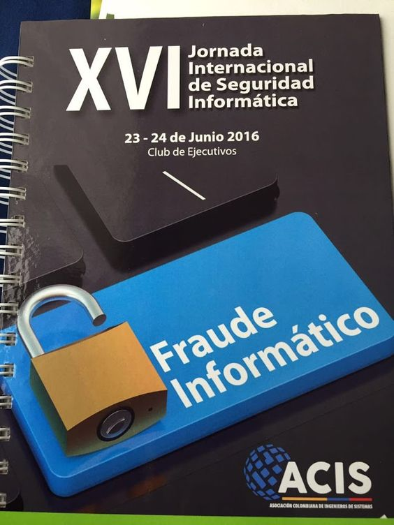 Nuestro Decano de Sistemas Alex Ávila asiste a la XVI Jornada internacional de seguridad Informática