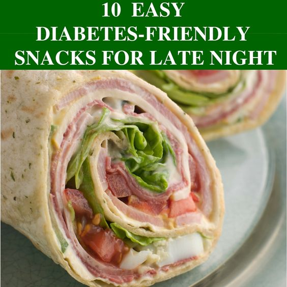 10 Late Night Diabetes Friendly Snacks