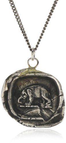 "Pyrrha ""Wax Seals"" Sterling Silver Elephant Necklace Pyrrha, http://www.amazon.com/dp/B0041OSW3S/ref=cm_sw_r_pi_dp_PmvYqb1T7RBVM"