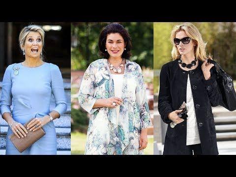 Moda para mujeres de 50 modernas 2019