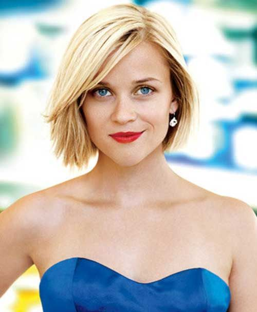 Reese Witherspoon Blonde Bob Haircut