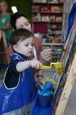 drop in art classes - messy art, stories & art, craft circle, 5814 w. third st.  la, ca 90036    323.988.1189