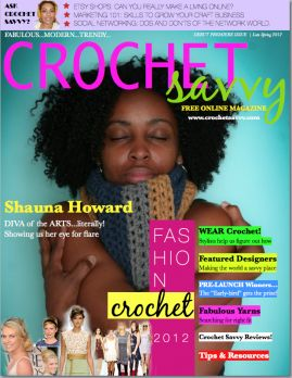 I am downloading it now.... I am ubber excited :)    Amazing job!!  Thank you KeTurah Ariel Malinconico Founder/Editor-n-Chief  and the Crochet Savvy Staff for the great job!!