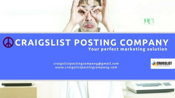 Affordable Craigslist Ads Poster Service With Best Craigslist Posting Company Our Expert Craigslist Poster Team Are Very Marketing Solution Ads Classified Ads
