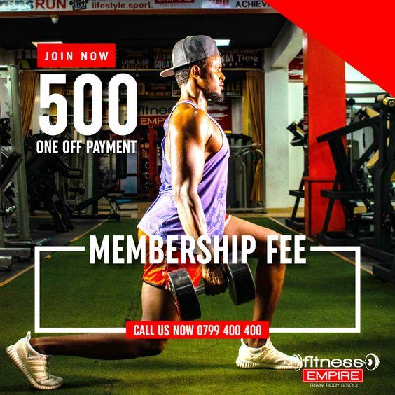 Gym Membership In Kenya Poster Flyer For Fitness Empire Social Media In 2021 Marketing Poster Marketing And Advertising Social Media