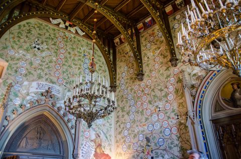 Znalezione Obrazy Dla Zapytania Hohenzollern Castle Hohenzollern Castle Eiffel Tower Inside Castle