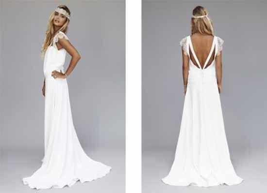 Boho bride style rime arodaky flies away bohemian style for Boho dresses for weddings