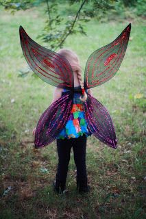 Create Kids Couture: Free Pattern: Fairy Wings