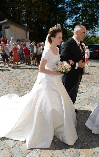 Lundi 31 Août Mariage du prince Franz Clemens d'Altenburg et de la comtesse Eleonore de Toerring-Jettenbach. 31.08.2015