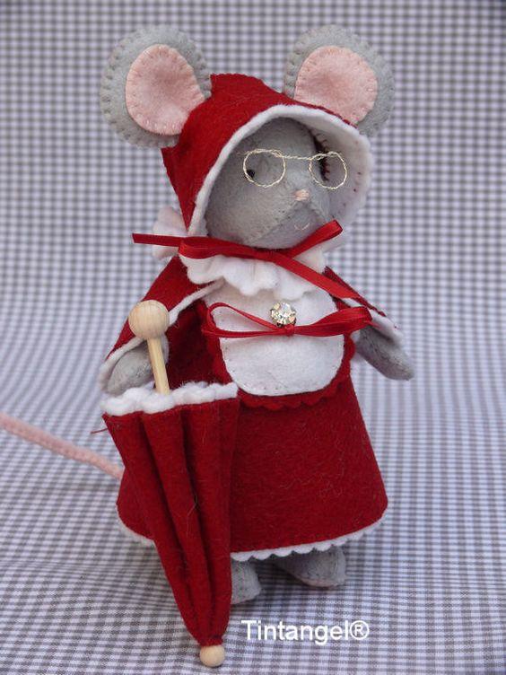 Lady Meredith de souris prés - kit de BRICOLAGE