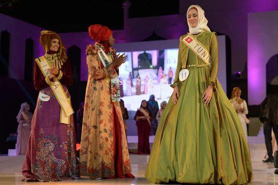 Tunisiana conquista título de Miss Muçulmana; veja fotos - Terra Brasil