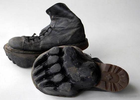 Botas de camuflaje