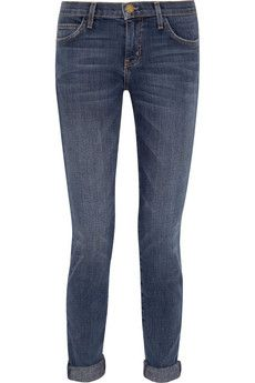 Current/Elliott The Skinny low-rise jeans | THE OUTNET