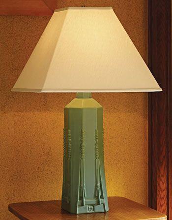 Frank Lloyd Wrights Dana Sumac Art Deco Lamp