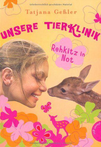 Unsere Tierklinik, Band 1: Unsere Tierklinik , Rehkitz in Not von Tatjana Geßler http://www.amazon.de/dp/3522502493/ref=cm_sw_r_pi_dp_ktyRub0C7P382