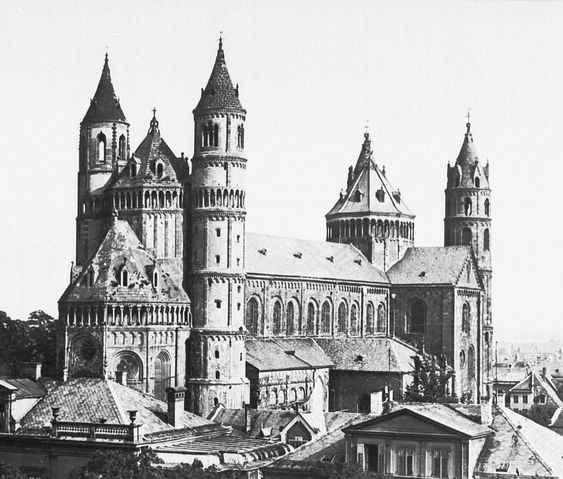 Worms Cathedral, Worms, Germany, ph. before 1901