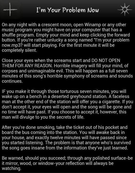 descriptive essay on a scary night