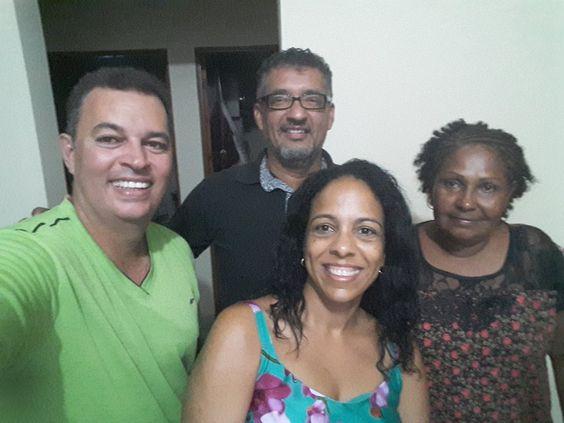 17/05/2017 - II Encontro Nacional - Geraldo Lemos, Ronaldo Freire, Eliane Aparecida e Isabel -