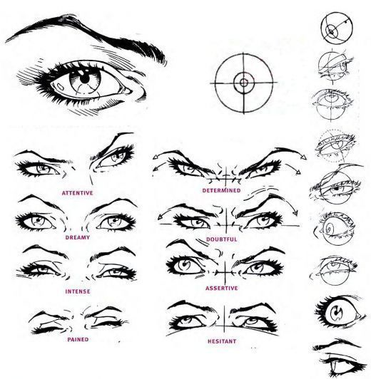 12 Astounding Learn To Draw Eyes Ideas In 2020 Eye Expressions Eye Drawing Art Reference