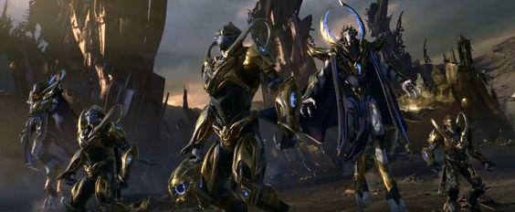 StarCraft 2: Legacy of the Void Opening CinematicComputer Graphics & Digital Art Community for Artist: Job, Tutorial, Art, Concept Art, Portfolio