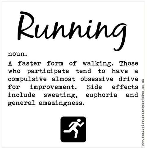 Funny running quotes and Running definitions Motivation for runners Gift for runners www.worrylessdesign.co.uk: