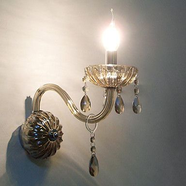 Crystal Wall Light with Candle Bulb – EUR € 69.99