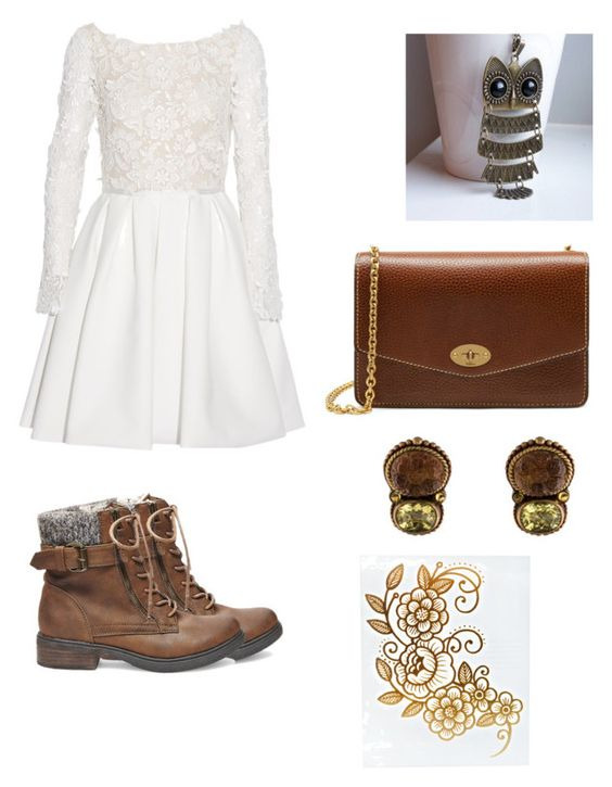 """""""#32"""" by mma-vales ❤ liked on Polyvore featuring Rime Arodaky, Steve Madden, Mulberry and Stephen Dweck"""