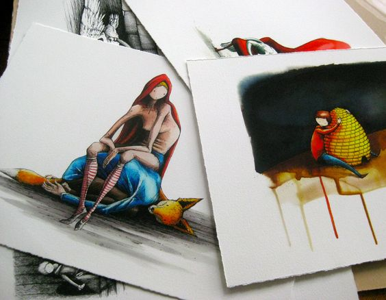 Some of Kaffeine's prints