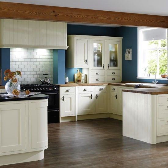 Country Kitchen Ideas, Kitchen Cabinet Paint Colors B And Q