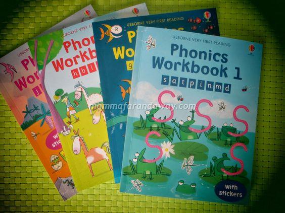 Phonics Activity Pack - 4 libri per bambini 4-6 anni con giochi e attivita' per imparare la fonetica inglese