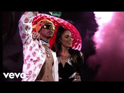Tini Lalo Ebratt Fresa Live Quiero Volver Tour Youtube Hollywood Records Reggaeton Songs