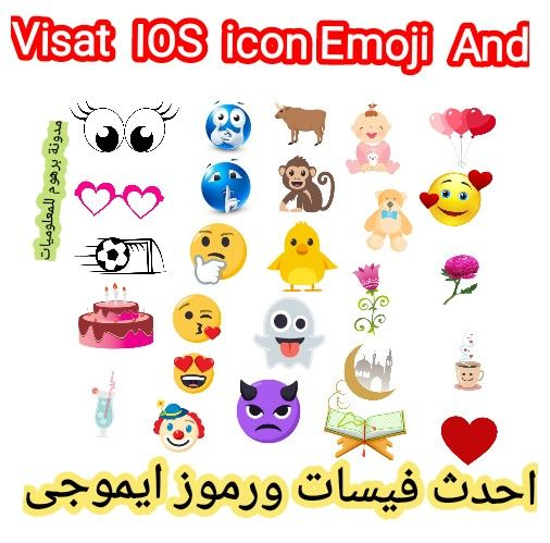 مدونة برهوم للمعلوميات فيسات الایفون الجدیده 2020 وطرق استخدامها واحدث رم Icon Emoji Emoji Icon