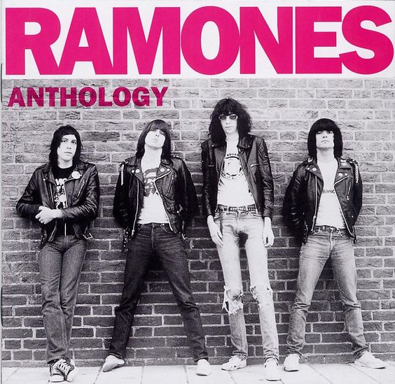 Blitzkrieg Bop!!!: Anthology Ramones, Rock N Roll Highschool, Punk Rocker, High School, Punk Rock Baby, Album Cover, Music Bands, 70S Punk