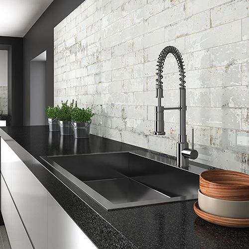 Tesoro Grunge Iron 3 X 12 Wall Tile Kitchen Tiles Kitchen Wall Tiles Wall Tiles