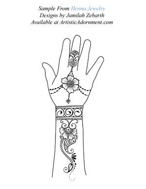Free Sample from Henna Jewelry by Jamilah Zebarth