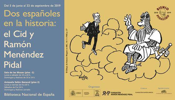 Exposición Dos españoles en la historia. Biblioteca Nacional de España