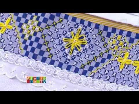 Ateliê na TV - TV Gazeta - 18.11.15 - Ana Maria Ronchel - YouTube